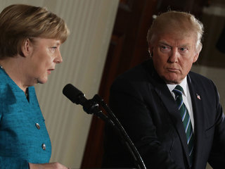 People in G20 countries trust Merkel over Trump