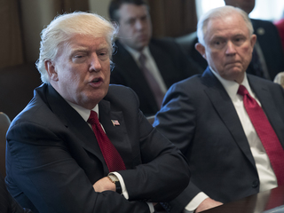 Sessions refuses to discuss talks with Trump