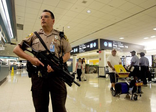 Airports to fight big security funding cuts
