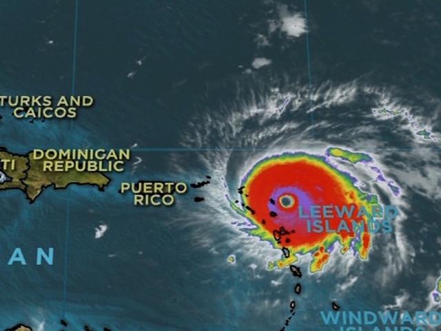 Hurricane Irma barrels towards Virgin Islands, US coast