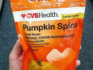 Pumpkin spice cough drops are real and available