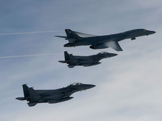 US military planes send message to North Korea