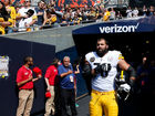 Steeler who stood during anthem speaks out