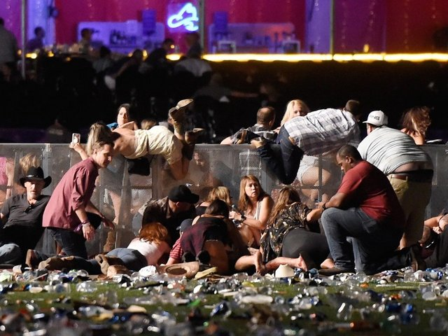 Alleged Las Vegas Shooter Had At Least 18 Weapons In Hotel Room