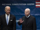 Sen. John McCain accepts Liberty Medal