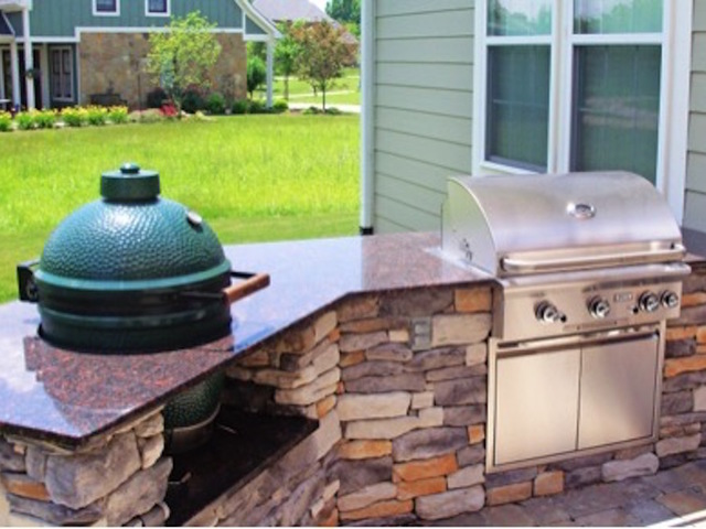 outdoor kitchen cost diy how much does an outdoor kitchen cost theindychannelcom