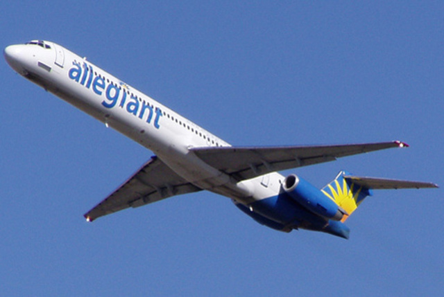 Allegiant Announces Nonstop Service From CVG to Charleston and Sarasota