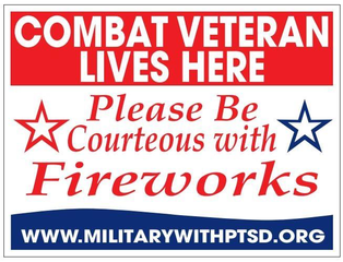 Fireworks can prompt PTSD for veterans