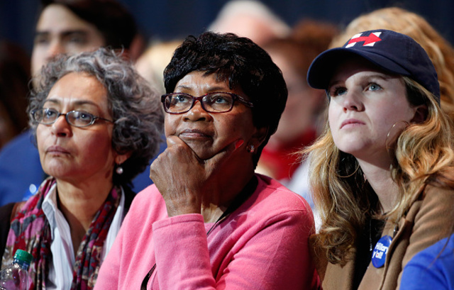 Sights from Hillary Clinton\'s campaign headquarters - V1 News Gallery