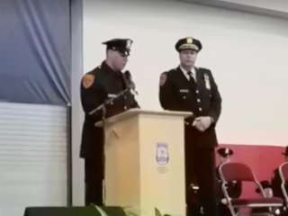 Veteran, double amputee becomes police officer