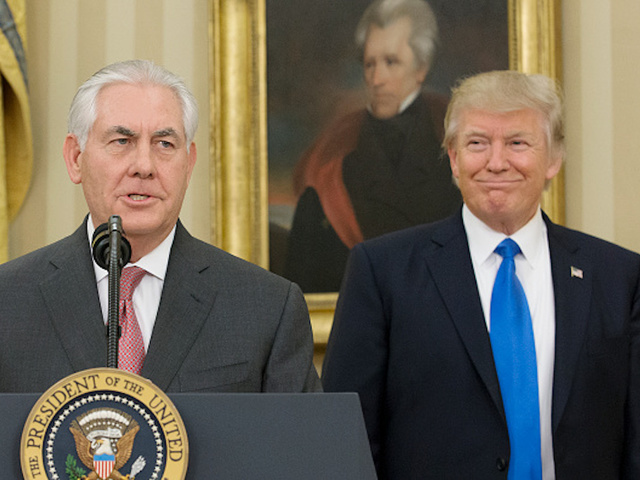 White House Says Tillerson Is 'Here,' For Now