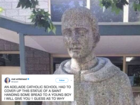 Catholic school covers up 'suggestive' statue