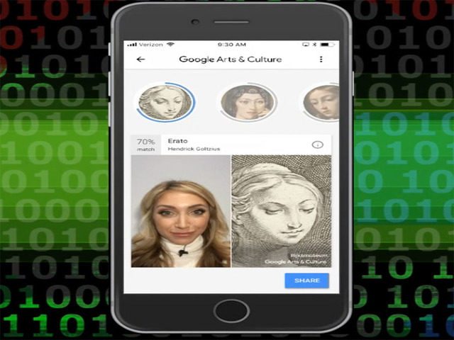 Is Your Portrait Stored in Any of World's Top Museums? Ask Google