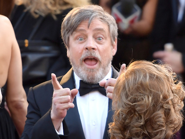 Mark Hamill & Jimmy Kimmel Are in a Star War - Watch!