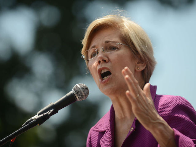 Tariffs should be part of USA  trade policy, Trump foe Warren says