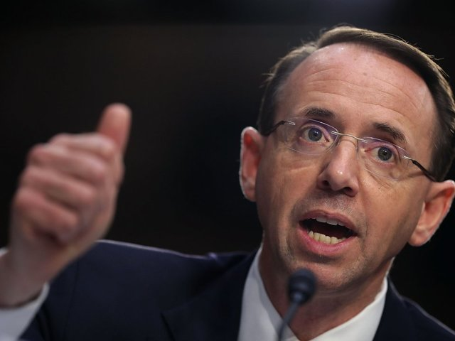 Rosenstein Relents, Lets Nunes See FBI Document That Launched Trump-Russia Probe