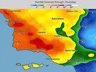 Rain triggers evacuations in So. California