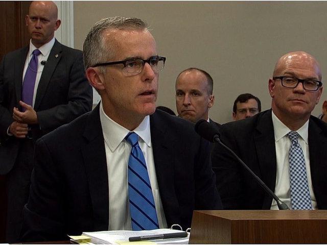 Watchdog Report Claims Ex-FBI Deputy Director McCabe Misled Investigators