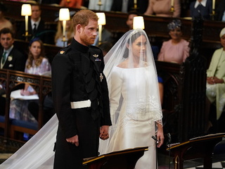 PHOTOS: Meghan Markle's stunning wedding dress