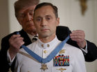 Trump presents the Medal of Honor to Navy SEAL