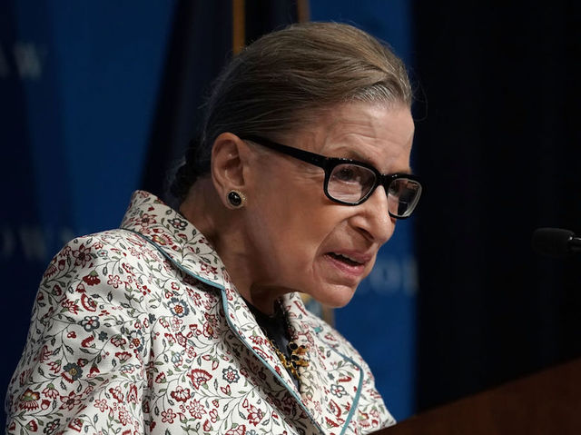 Image result for ginsburg dying